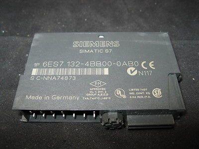 SIEMENS 6ES7 132-4BB00-0AB0 MODULE, 24VDC 2PT DIGITAL OUT