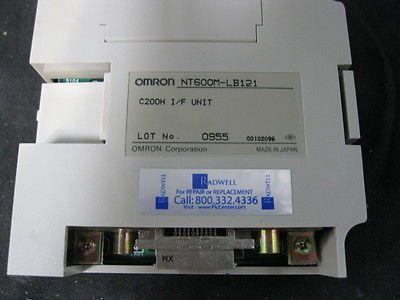 OMRON NT600M-LB121 PUMP DIPLAY BOARD, INTERFACE