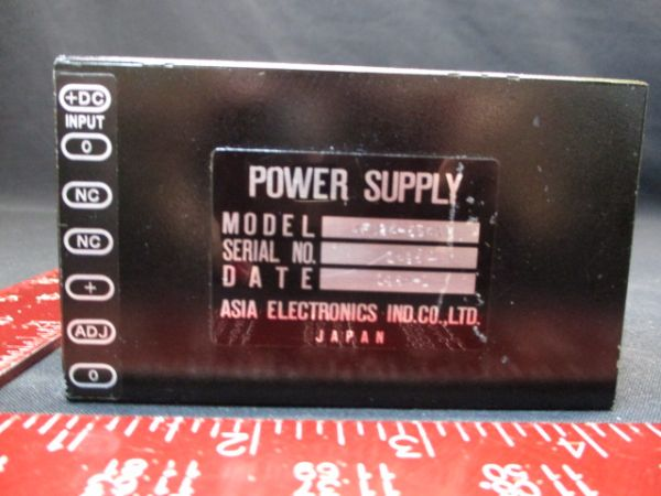 ASIA ELECTRONICS AFD24-5S4A SUPPLY, POWER