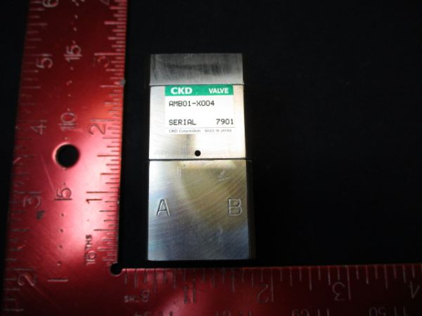 CKD CORPORATION AMB01-X004 VALVE, SUCK BACK