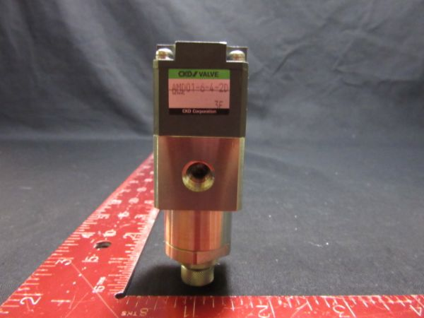 CKD CORPORATION AMD01-6-4-2D PNEUMATIC VALVE