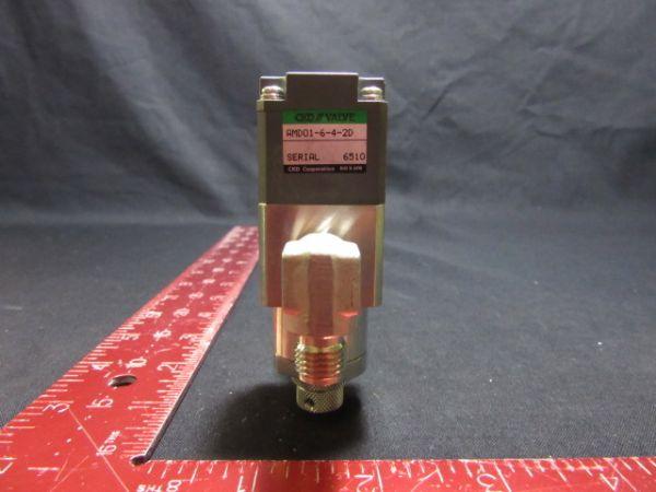 CKD CORPORATION AMD01-6-4-2D PNEUMATIC VALVE 4~6 kgf cm