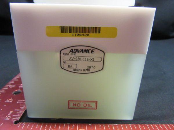 DAI NIPPON SCREEN (DNS) 5-39-01896 ADVANCE AV-250-114-X1 VALVE, QDR