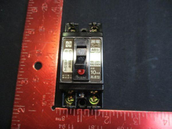 MINEBEA-MATSUSHITA BJJ2-15-32 BREAKER, CIRCUIT 100/200V