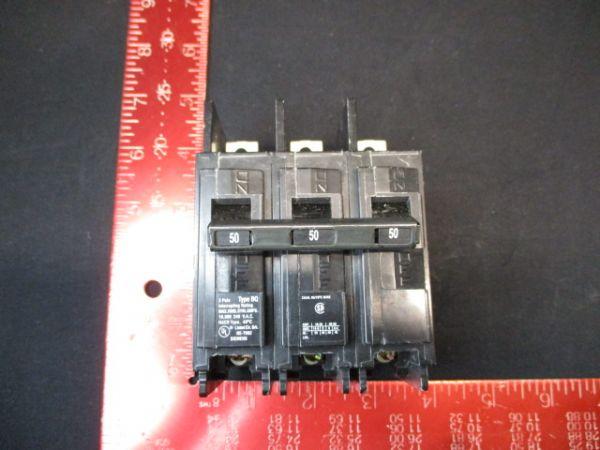 Siemens BQ3B050 BREAKER, CIRCUIT 3 PL 50A 240 VAC