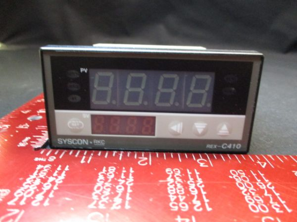 RKC INSTRUMENTS C410FJA3-8 CONTROLLER, THERMO