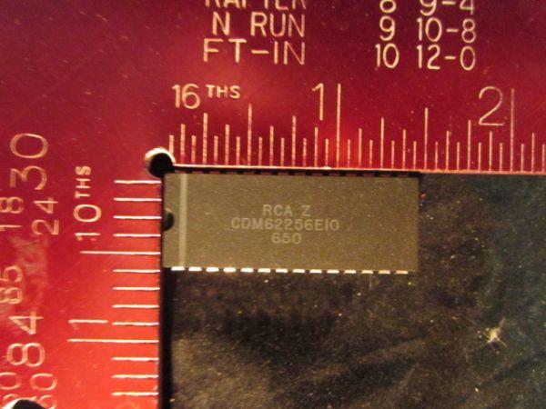 RCA CDM62256E10 IC - STATIC RAM 32Kx8 28-PIN