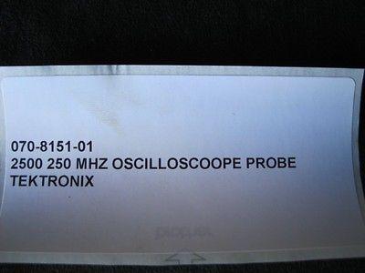 ASML 070-8151-01 2500 250 MHZ OSCILLOSCOOPE PROBE