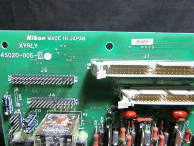 NIKON 4S020-005-I   PCB, XYRLY,KBA01800-AE27