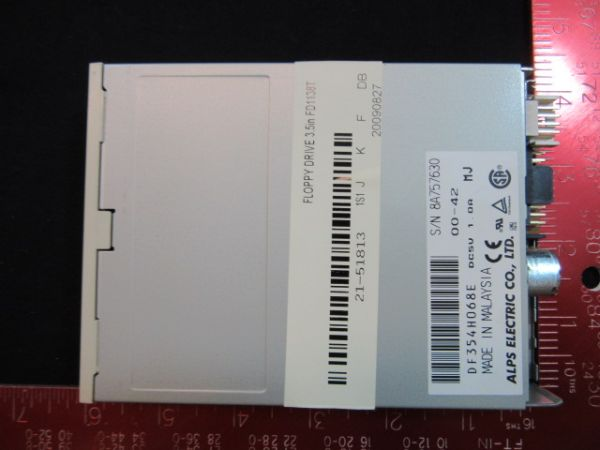 ALPS ELECTRIC CO. DF354H068E NEW (Not in Original Packaging) FLOPPY DRIVE 3.5 IN FD1138T