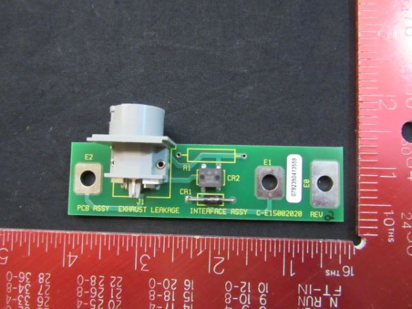 VARIAN E15002020   PCB ASSEMBLY, EXHAUST, LEAKAGE, INTERFACE