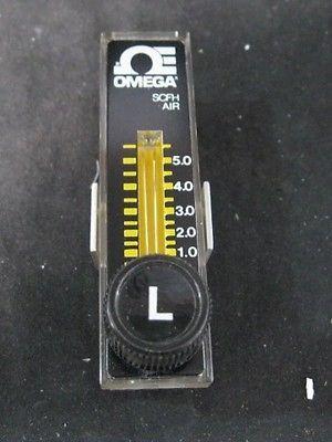 OMEGA FL-1002 FLOW METER, AIR