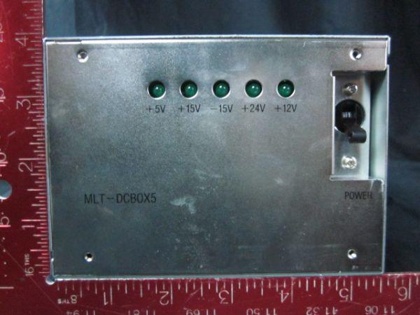TOKYO ELECTRON (TEL) ES1D80-001291-13 Sanken Electric MLT-DCB0X5 DC Pwr Supply