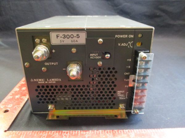 TDK-LAMBDA-PHYSIK-NEMIC F-300-5 POWER SUPPLY 5V 60A