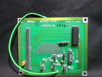 NIKON 4S020-074   PCB, LRSTG 61,KBA01800-AE07