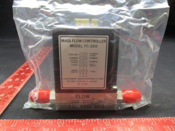 TYLAN GENERAL FC-260V MASS FLOW CONTROLLER RANGE: 500 SCCM GAS: N2