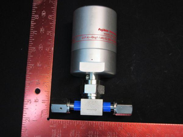 FUJIKIN INC FPR-UDDF-716-6.35-2 O.P.4~6kgf/cm?G (0.39~0.59MPa) VALVE