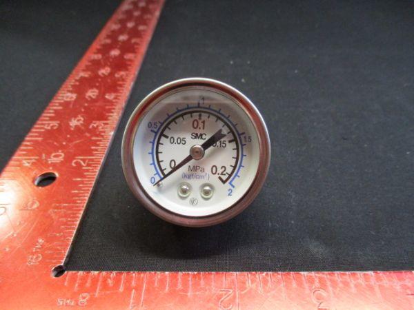 SMC G-43-2-02 PRESSURE GAUGE 0-2 kgf/cm2
