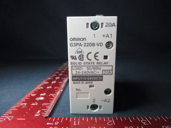 ASML 93712-00003 Omron G3PA-220B-VD RELAY, SOLID STATE