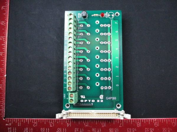 OPTO 22 G4PB8 RACK, PCB MOUNTING 8 CHANNEL
