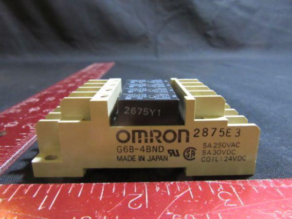 Omron G6B-4BND NEW (Not in Original Packaging) TERMINAL RELAY SOCKET