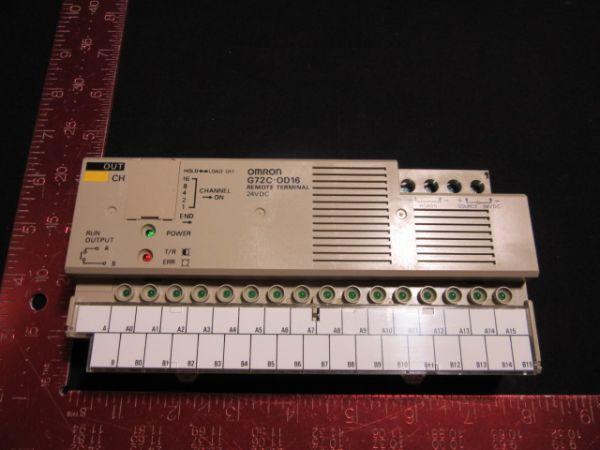 Omron G72C-OD16 REMOTE TERMINAL 24VDC