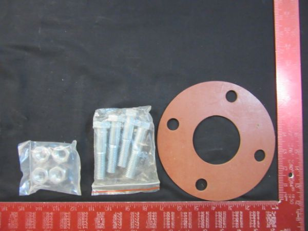 NOR-CAL GSFFG2.5 RING GASKET KIT WITH 4 BOLTS