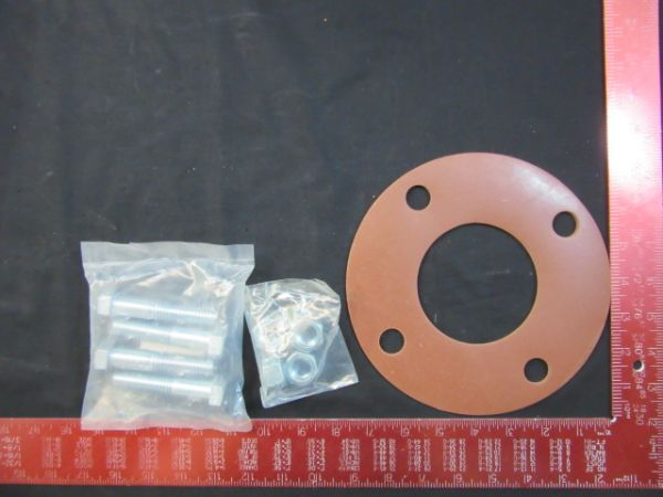NOR-CAL GSFFG3 RING GASKET KIT WITH 4 BOLTS