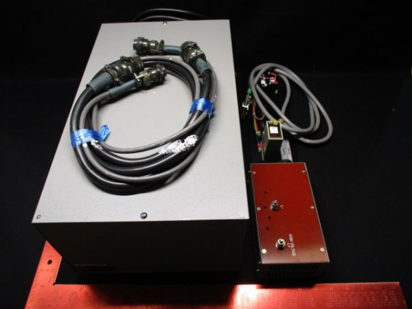 NIKON KBB00101-161-1 USHIO HB-10201AF LAMP POWER SUPPLY W/ CONTROL PANEL KIT