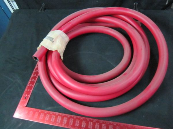 Applied Materials AMAT 3400-01415 Gas HoseLIQ 10ID X 1406OD 250PSI PVC Red 23 feet long