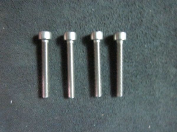 Applied Materials AMAT 3690-04826 Screw CAP SKT HD M35 X 25MM LG HEX SKT SST A2-70 Pack of 4