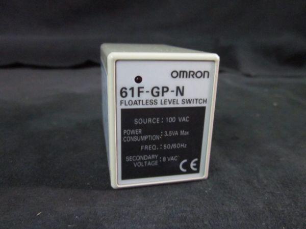 OMRON 61F-GP-N AMP REVEL METER100 VAC 35VA MAX 5060 HZ 8 VAC