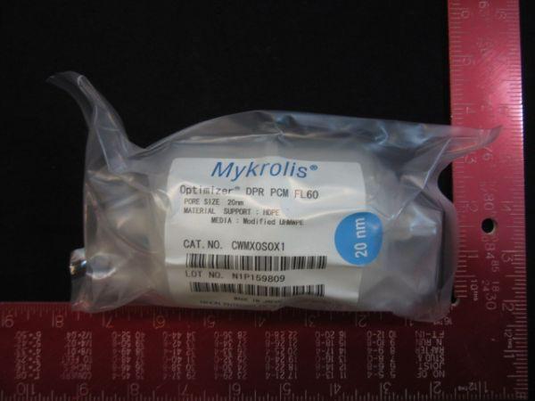 ENTEGRIS CWMX0S0X1 MYKROLIS FILTER OPTIMIZER DPR PCM FL 60 002M