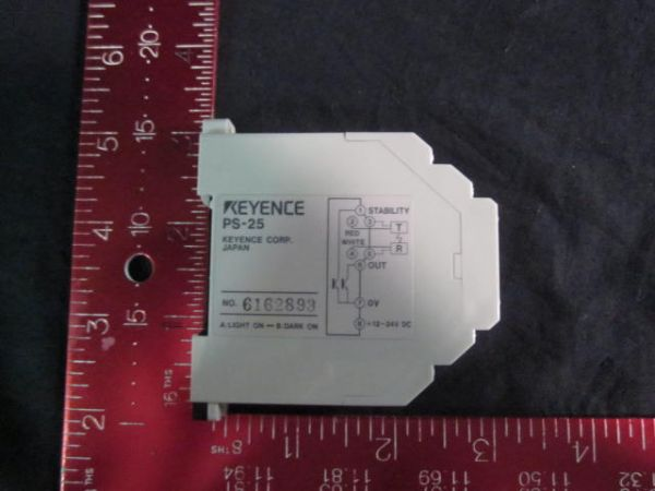 KEYENCE PS-2 AMPLIFIER PHOTOELECTRIC SENSOR