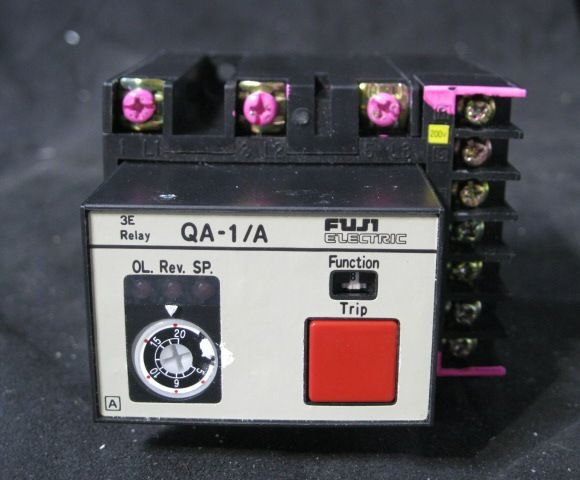 FUJI QA-1A RELAY OVERCURRENT