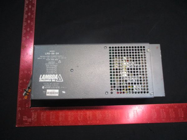 Applied Materials (AMAT) 0010-00365 LAMDA LRS-56-24 POWER SUPPLY , REGULATED