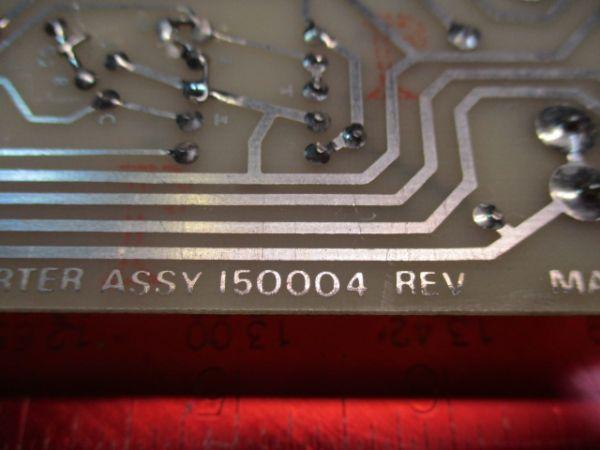 KAISER SYSTEMS INC (KSI) 150004 DC/DC CONVERTER ASSSEMBLY
