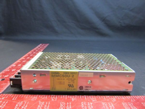 NIKON KBA01800-529 Cosel MMC50U-2 POWER SUPPLY 100-120VAC, 47-440Hz 1.5AMP