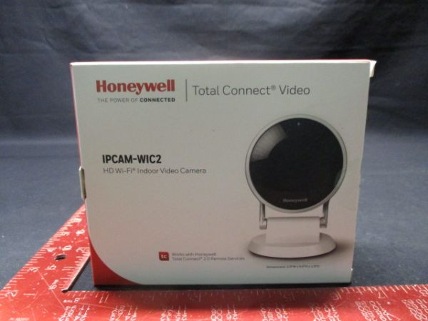 Honeywell IPCAM-WIC2 HD WI-FI INDOOR VIDEO C A M E R A
