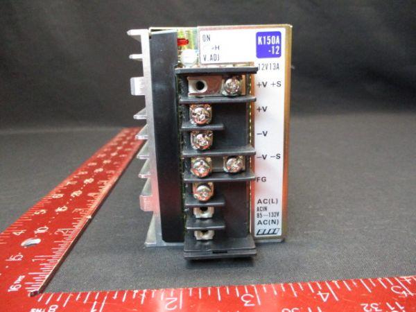 ELCO K150A-12 POWER SUPPLY 12V 13A