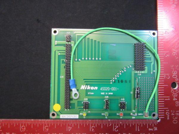 NIKON KBB00610-AE05   NEW PCB, 4S020-001, STAGE 61, STEPPERS