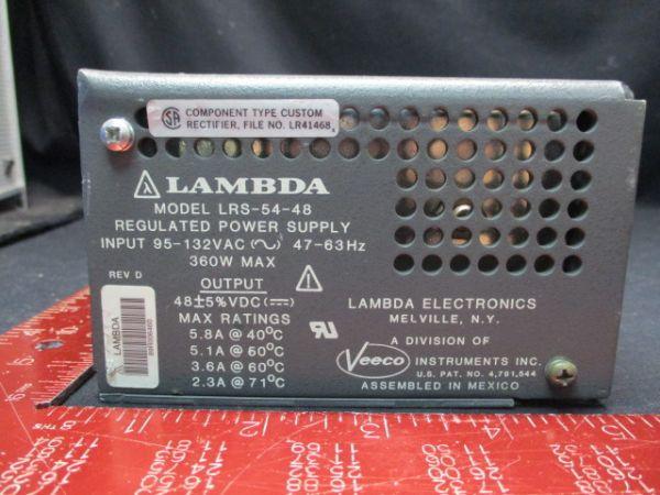 LAMBDA LRS-54-48 REGULATED POWER SUPPLY