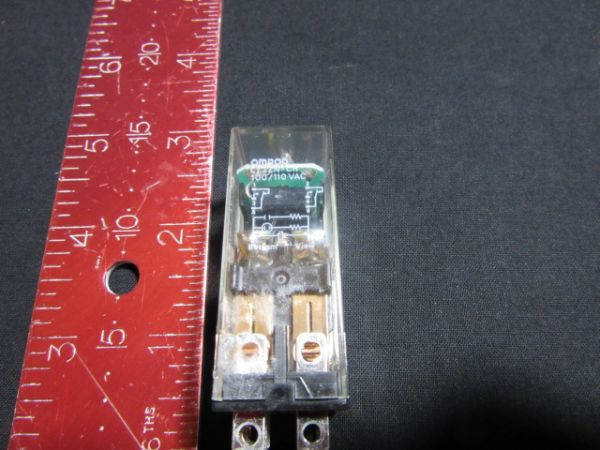 Omron LY2ZN-CR Used RELAY 100/110 VAC