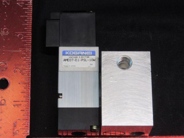 Koganei ME07M1A1-AME07E1-PSL VALVE, SOLENOID W/MANIFOLD