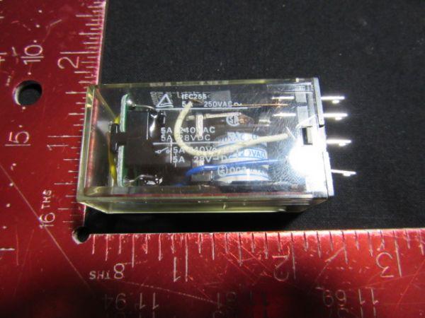 Omron MY2N-CR NEW (Not in Original Packaging) RELAY, 110/120VAC