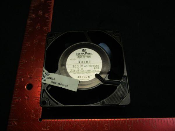ASML 78-122565A31 IKURA N3901 FAN, TOSHIBA 100v 50/60hz