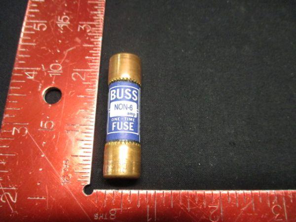 BUSSMANN NON-6 FUSE 6 AMP 250V