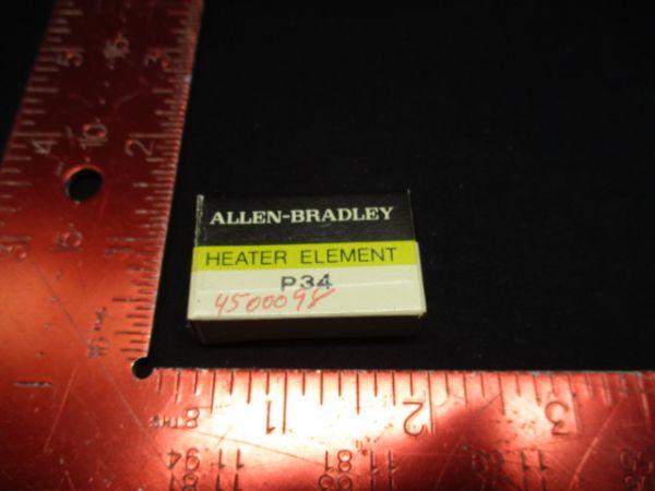 Allen-Bradley P34 HEATER ELEMENT MANUAL STARTING SWITCH