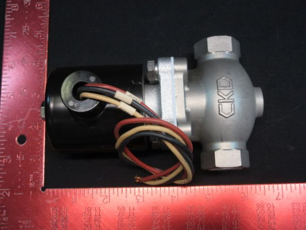 CKD CORPORATION PKW-04-27C SOLENOID VALVE 100V 50/60Hz