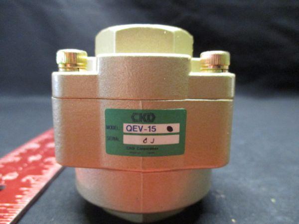CKD CORPORATION QEV-15 VALVE, QUICK EXHAUST